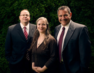 Steve Maddoux, Willow Myrick and Kevin Preston